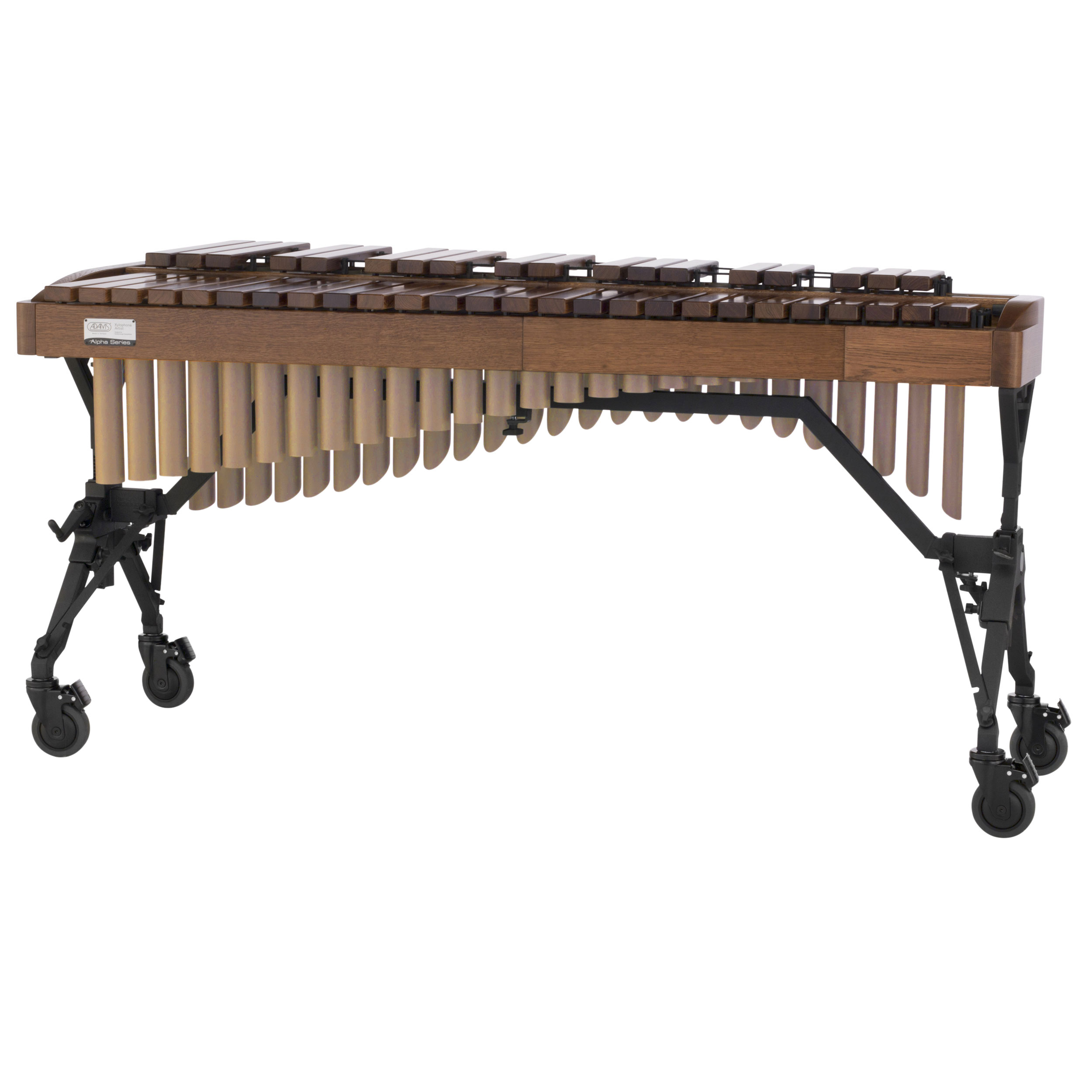 Adams 3.5 Octave Alpha Rosewood Xylophone with Walnut Oak Rails & Satin Gold Resonators