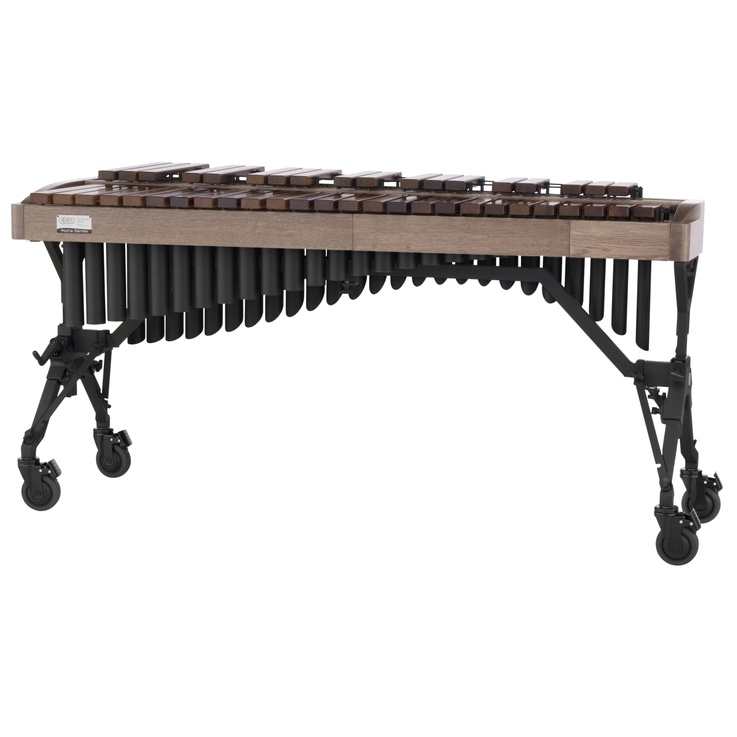Adams 3.5 Octave Alpha Rosewood Xylophone with White Wash Oak Rails & Black Resonators