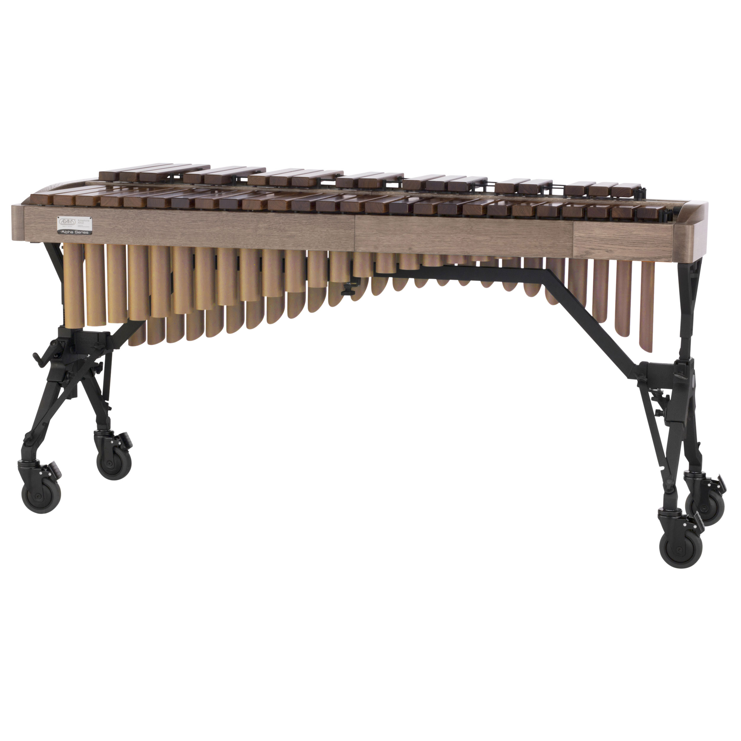 Adams 3.5 Octave Alpha Rosewood Xylophone with White Wash Oak Rails & Satin Gold Resonators
