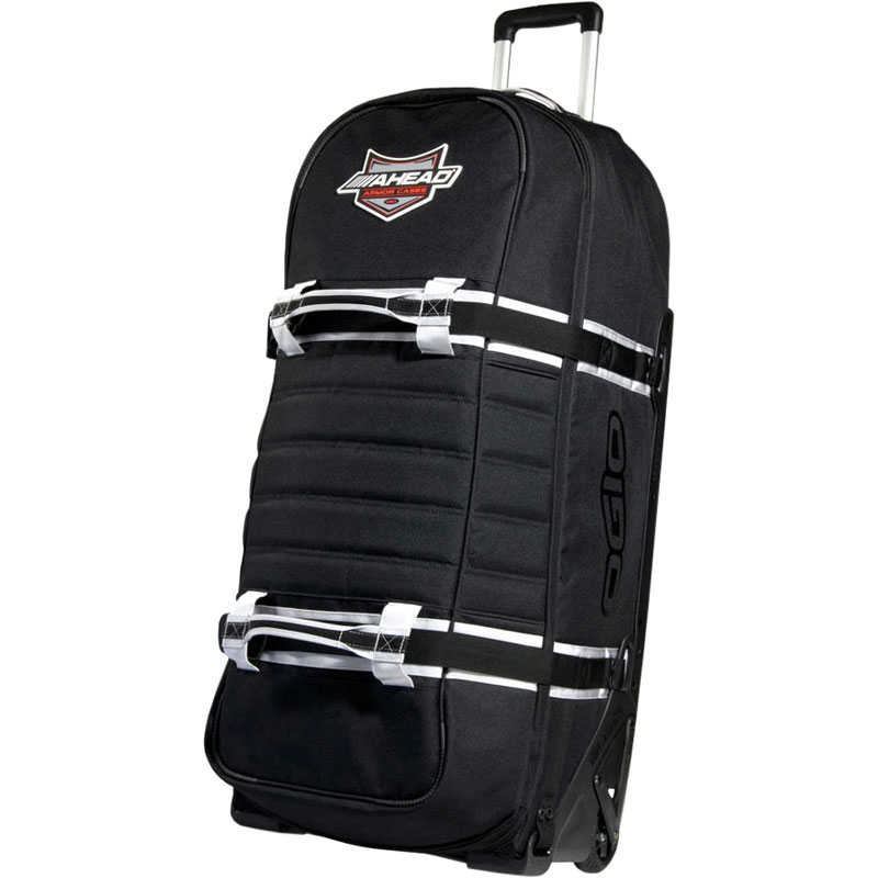 "Ahead Armor 38"" x 16"" x 14"" Ogio Sled Hardware Bag w/ Wheels & Pull-Out Handle"