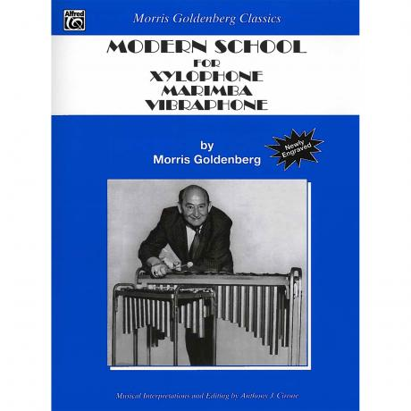 Modern School for Xylophone, Marimba and Vibraphone by Morris Goldenberg