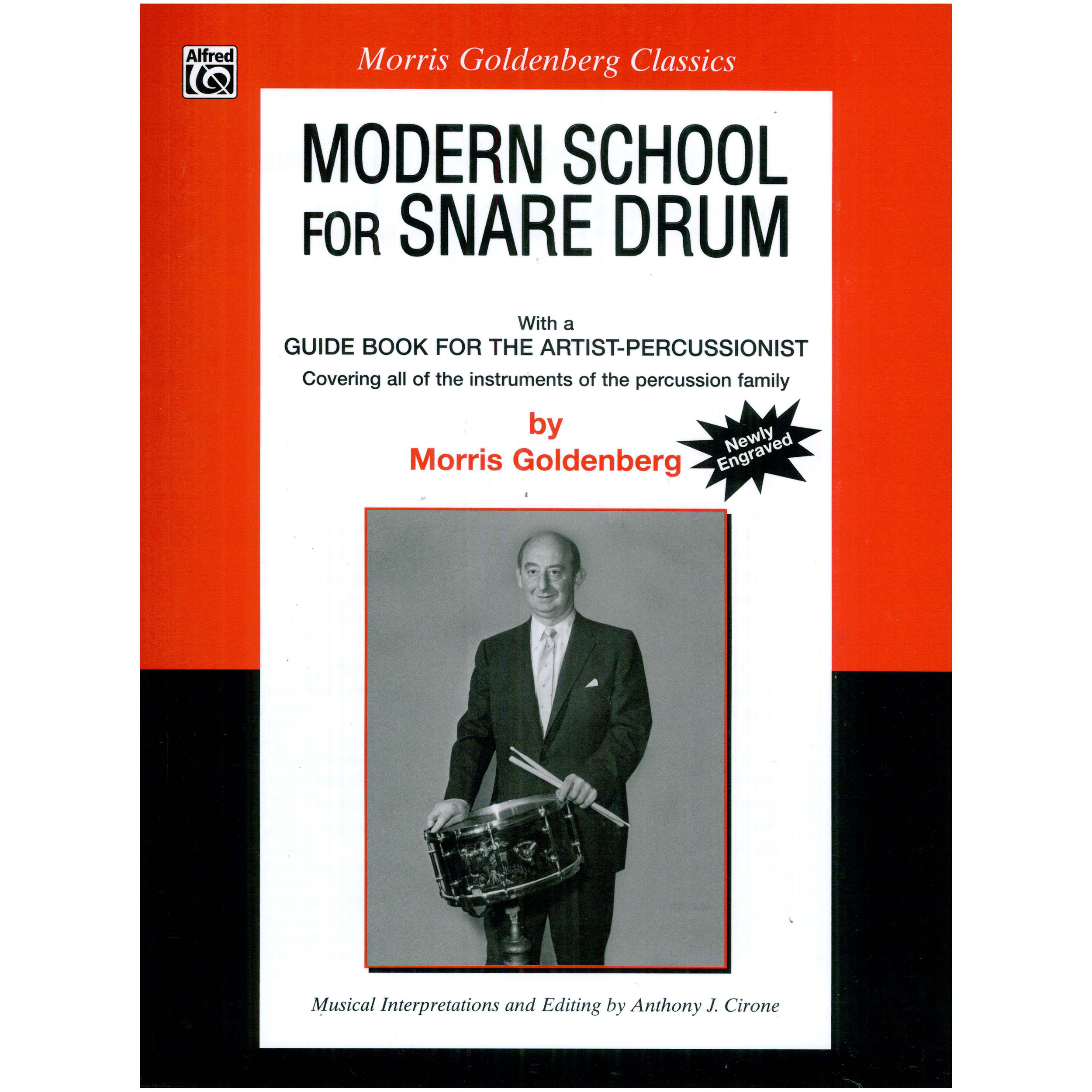Modern School for Snare Drum by Morris Goldenberg