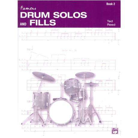 Drum Solos and Fill-Ins for the Progressive Drummer - Book 2 by Ted Reed