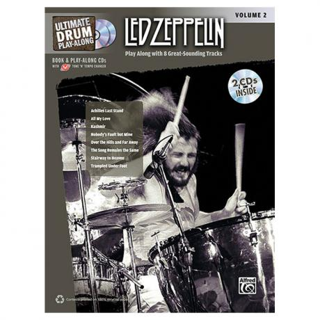 Ultimate Drum Play-Along: Led Zeppelin Volume 2 Drum Set Book