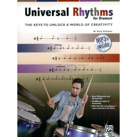 Universal Rhythms for Drumset by Dave DiCenso