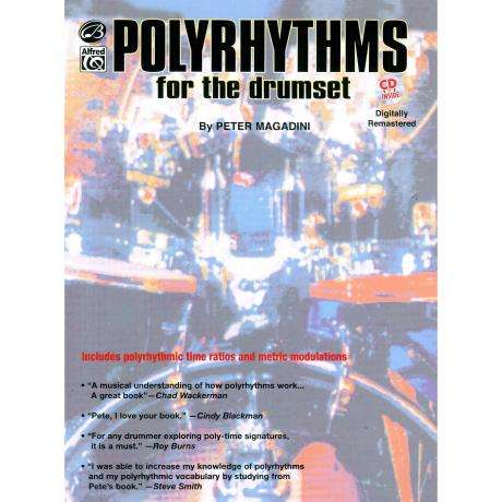 Polyrhythms for the Drumset (Book & CD) by Peter Magadini