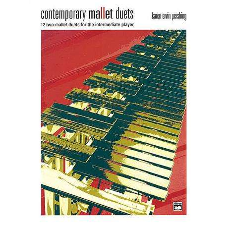Contemporary Etudes for 3 & 4 Mallets by Karen Ervin Pershing