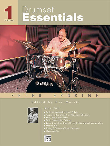 Drumset Essentials - Volume 1 by Peter Erskine