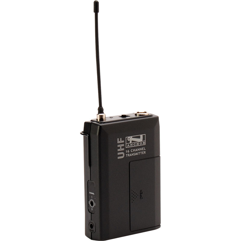 Anchor Audio Wireless Beltpack Transmitter (540-570 MHz)