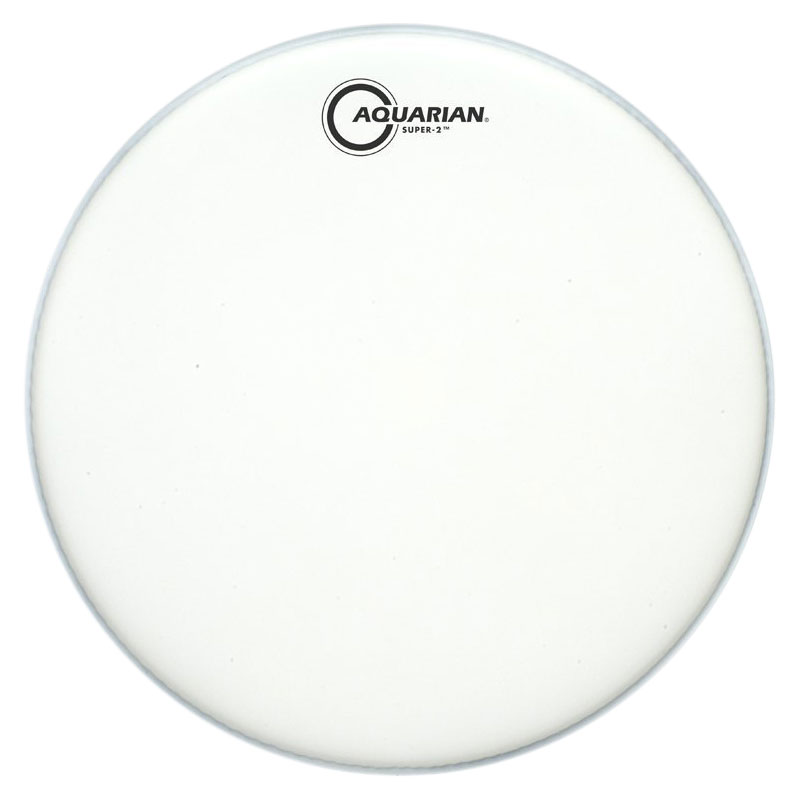 "Aquarian 13"" Super-2 Coated Tom Head"