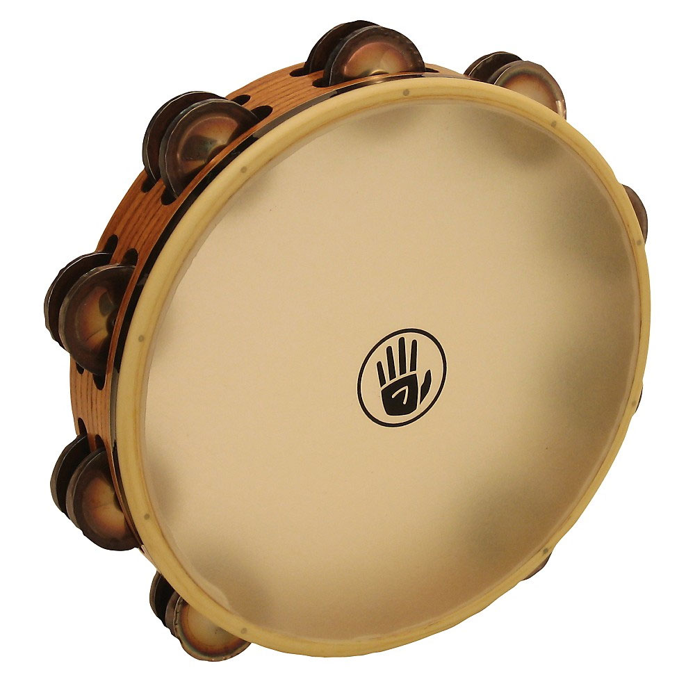 "Black Swamp 10"" SoundArt Double Row Chromium Tambourine (Natural Head)"