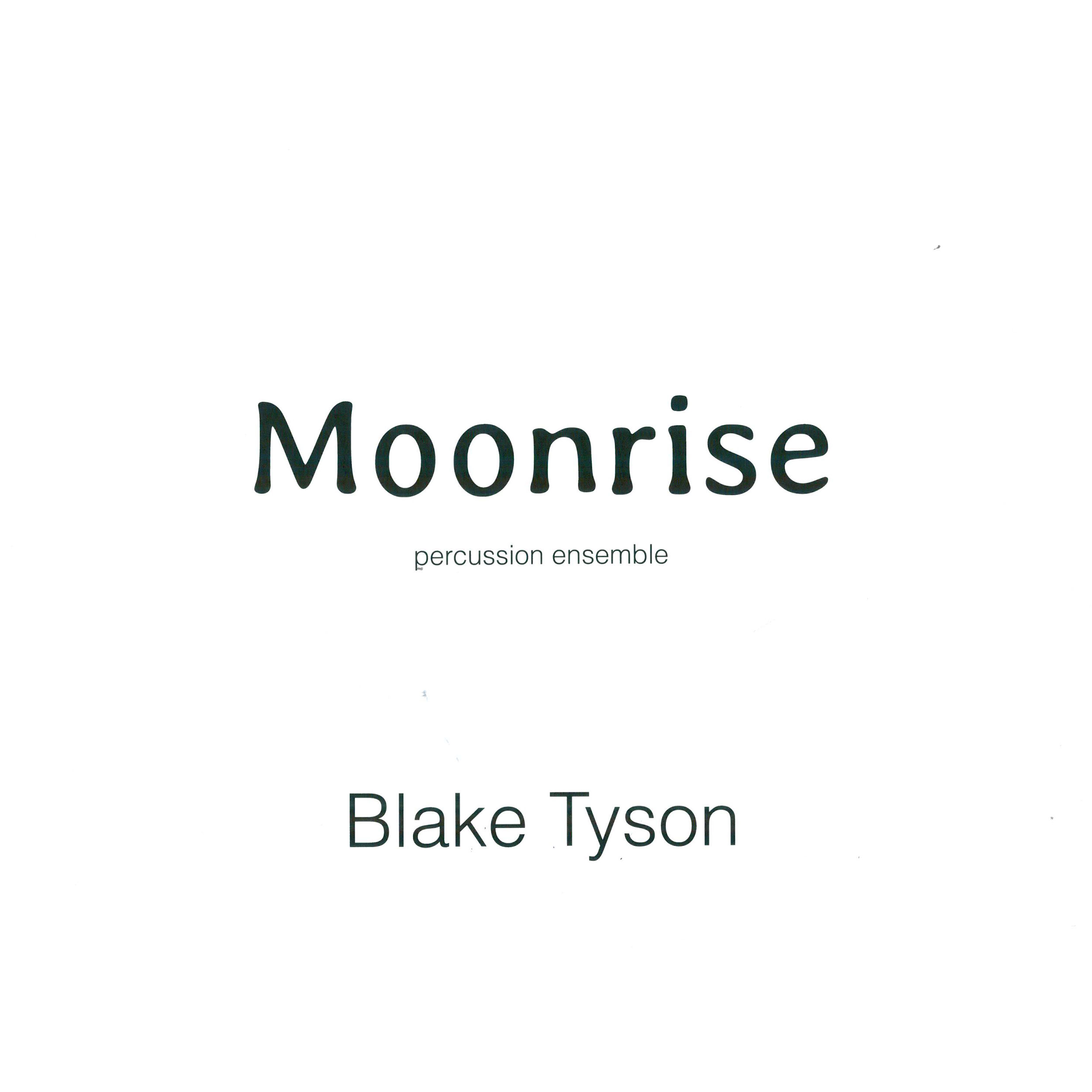 Moonrise by Blake Tyson