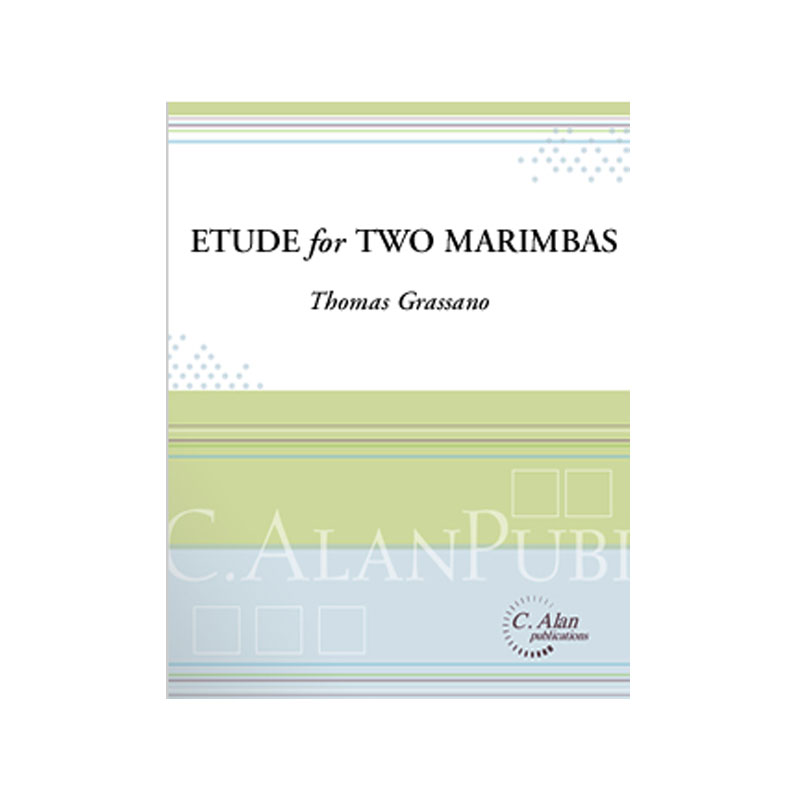 Etude for Two Marimbas by Thomas Grassano