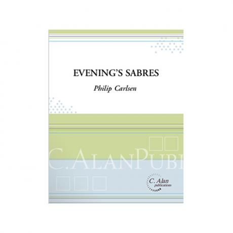 Evening's Sabres by Philip Carlsen