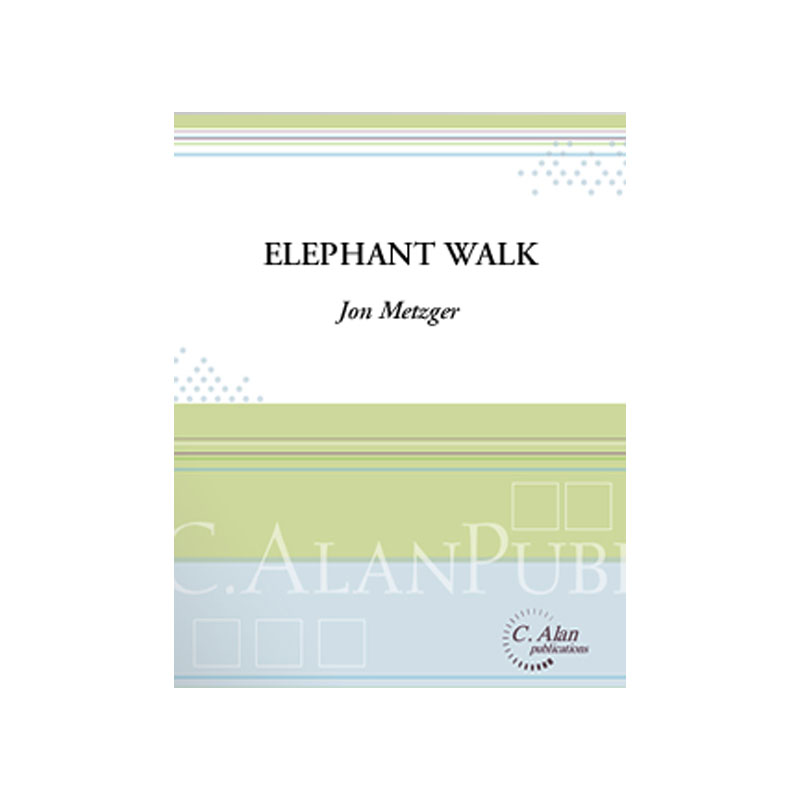 Elephant Walk by Jon Metzger