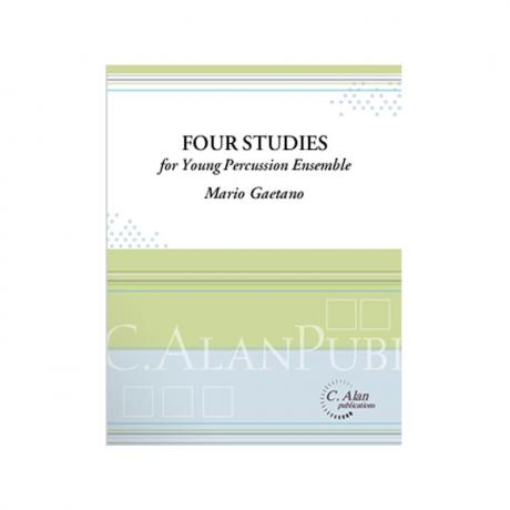 Four Studies for Young Percussion Ensemble by Mario Gaetano