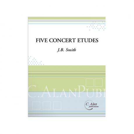 Five Concert Etudes by J.B. Smith
