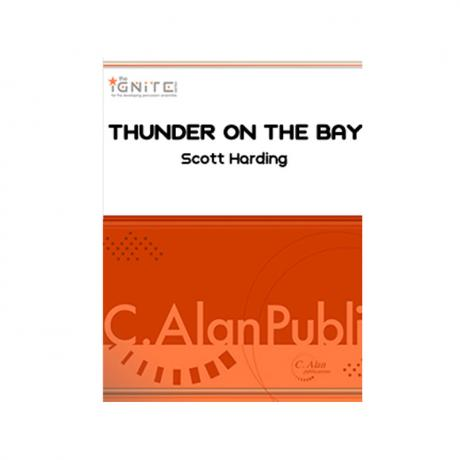 Thunder on the Bay by Scott Harding