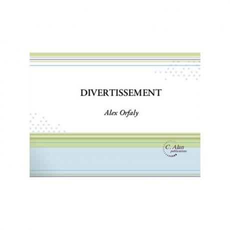 Divertissement by Alex Orfaly