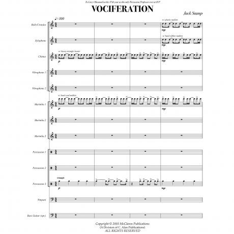 Vociferation by Jack Stamp