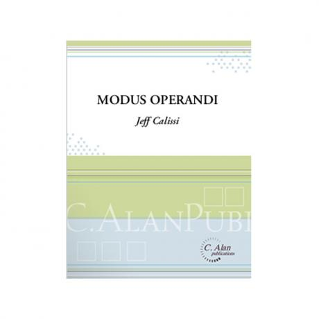 Modus Operandi by Jeff Calissi