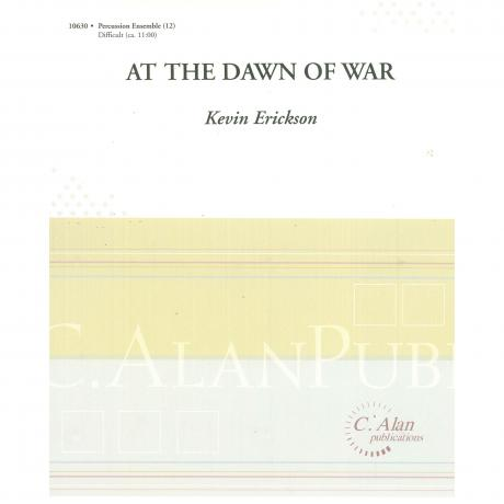 At the Dawn of War by Kevin Erickson