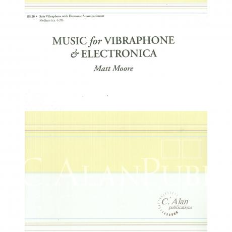 Music for Vibraphone & Electronica by Matt Moore