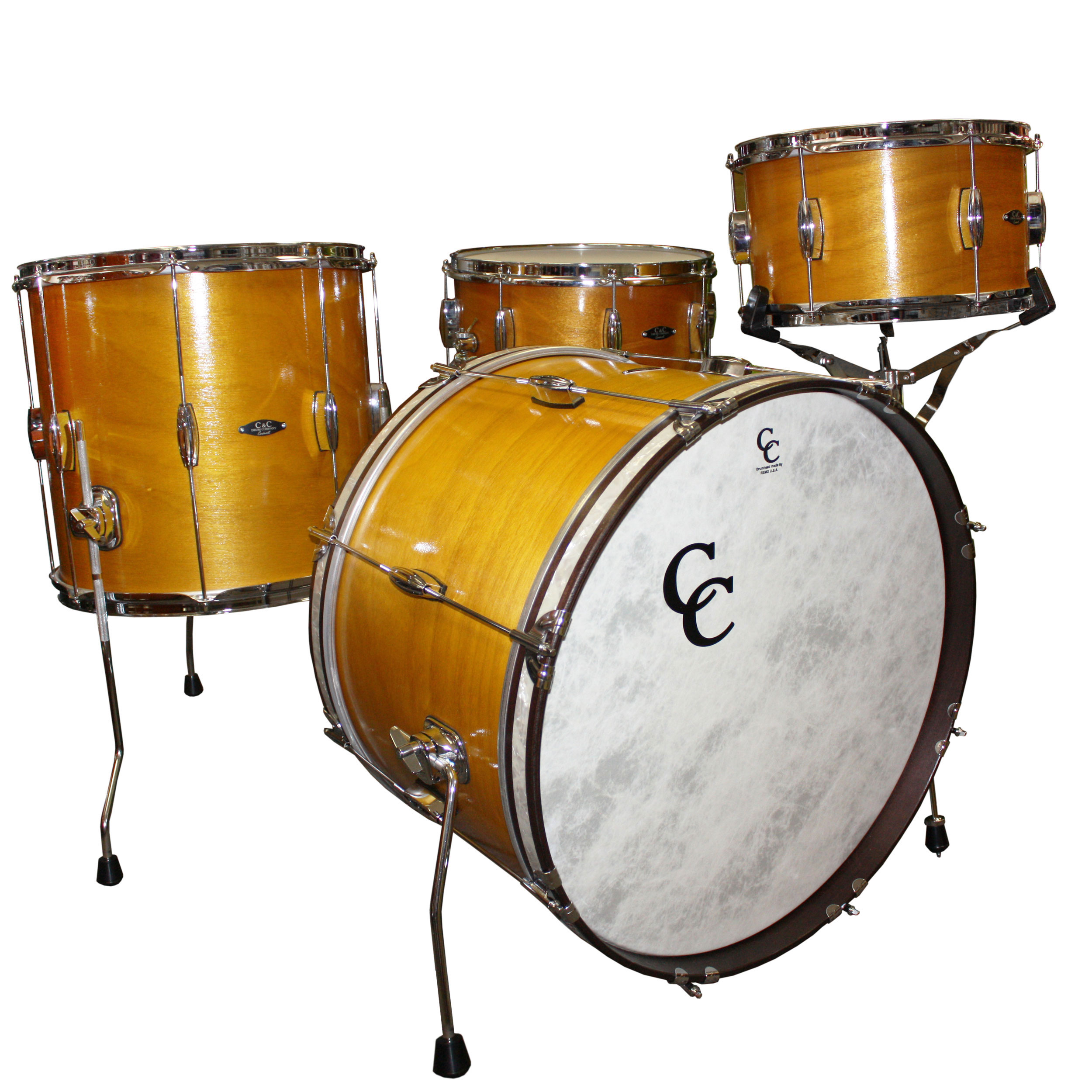 "C&C Drum Player Date Big Beat 4-Piece Drum Set Shell Pack (22"" Bass, 13/16"" Toms, 14"" Snare)"