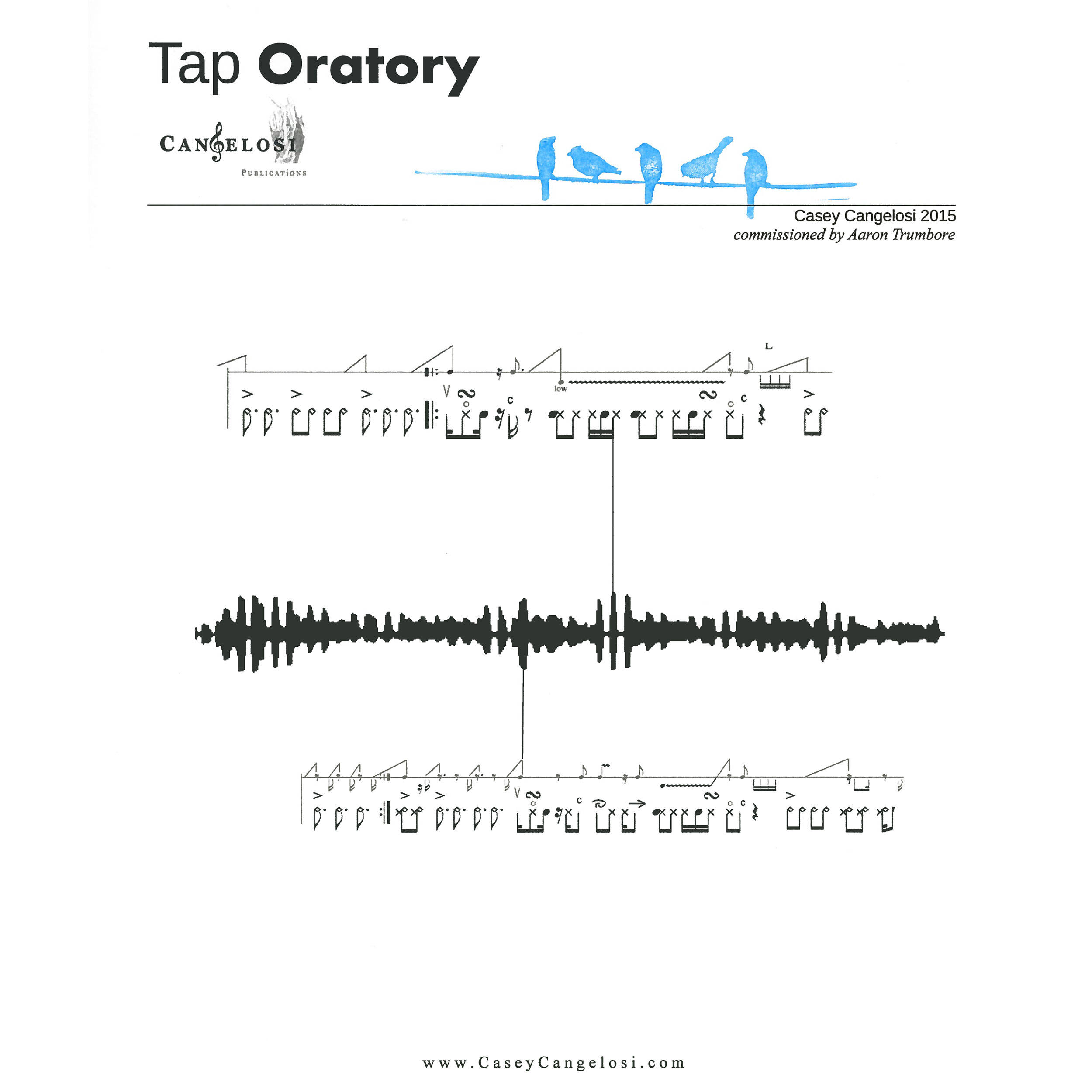 Tap Oratory by Casey Cangelosi