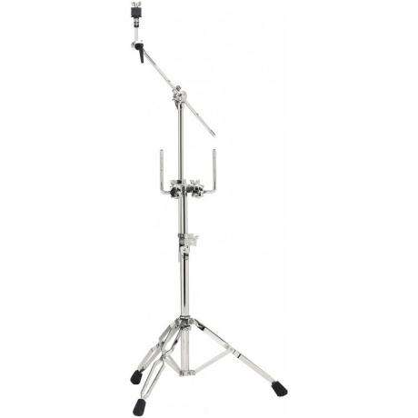 DW DWCP9934 9000 Series Heavy Duty Double Tom/Cymbal Stand