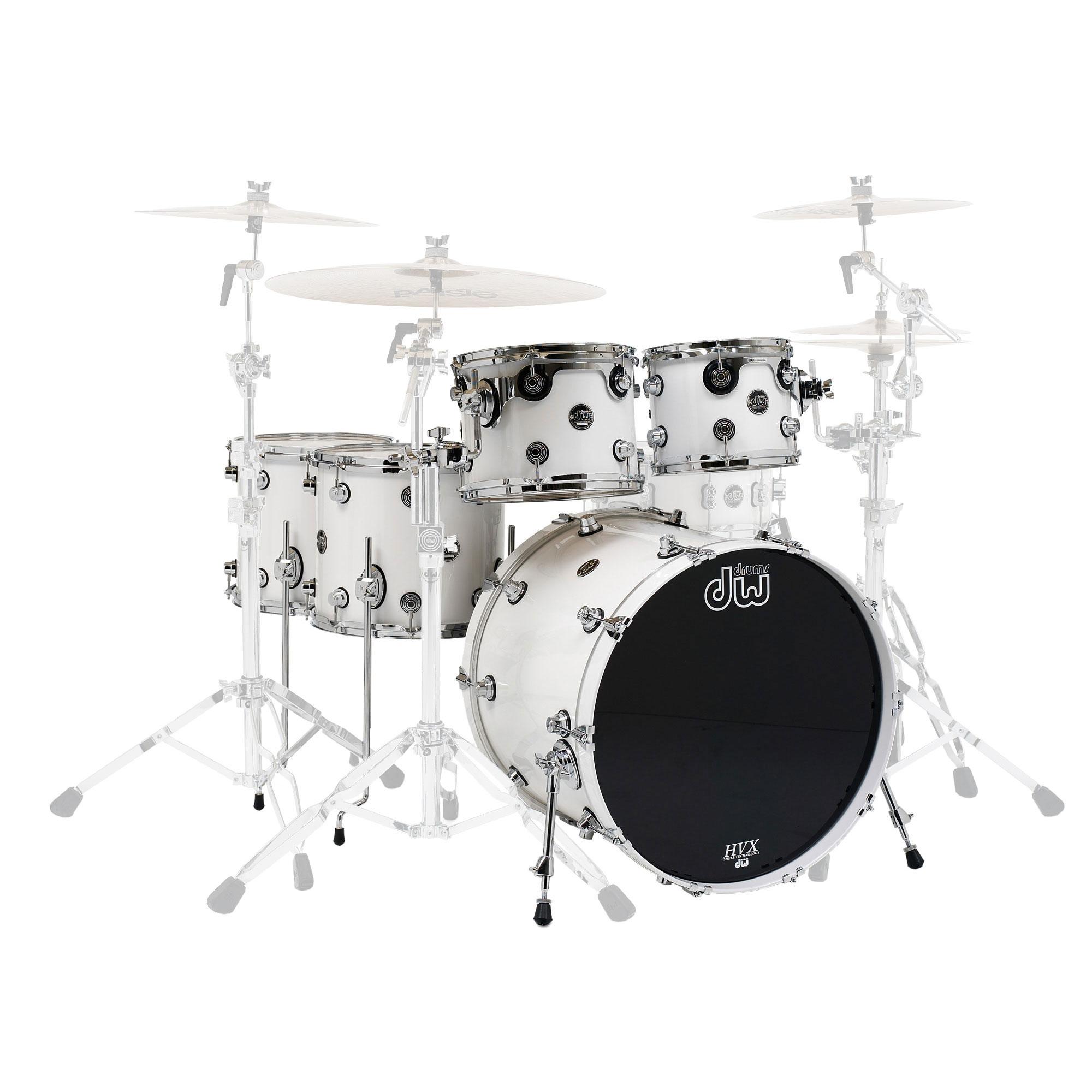 "DW Performance 5-Piece Drum Set Shell Pack (20"" Bass, 10/12/14/16"" Toms)"