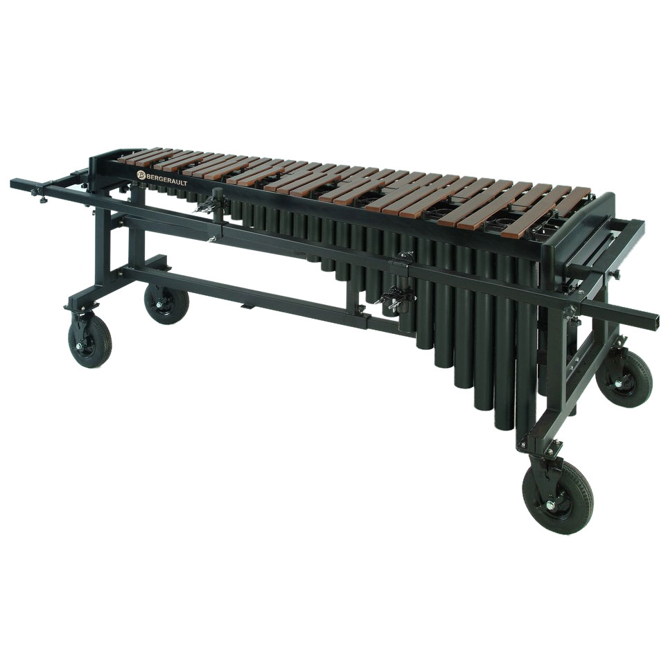 Bergerault 4.3 Octave Performance Series Marimba with Gridiron Cart