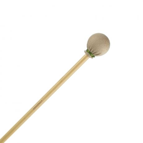 Dragonfly Percussion Covered Solo Xylophone Mallets with Rattan Handles