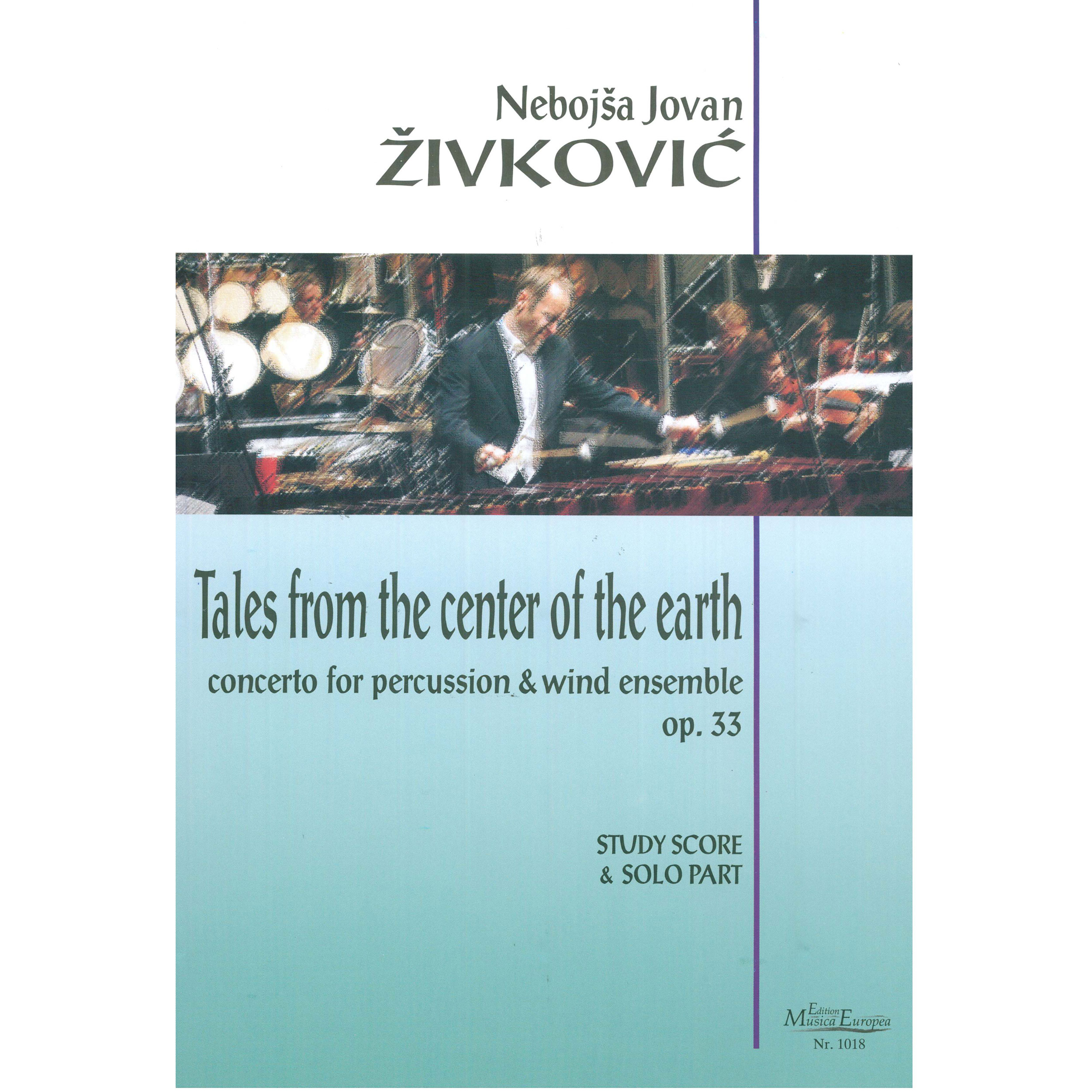 Tales From The Center Of The Earth by Nebojsa Jovan Zivkovic