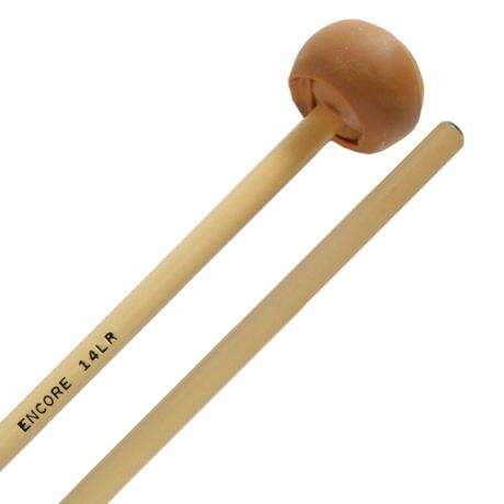 Encore Med-Soft Latex Wrapped Keyboard Mallets with Rattan Shafts