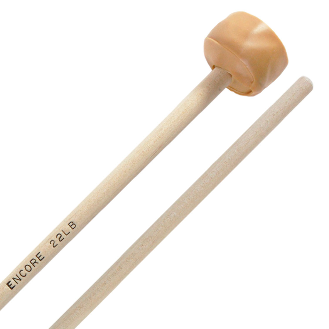 Encore Hard Latex Wrapped Keyboard Mallets with Birch Shafts