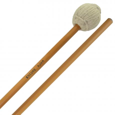 Encore AJHR Allen Joanis Signature Hard Marimba Mallets with Rattan Shafts