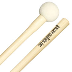 Encore Large Hard Felt Bass Drum Mallets