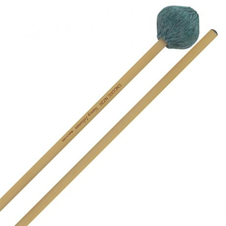 Encore Nancy Zeltsman Signature Medium Hard Marimba Mallets with Rattan Shafts