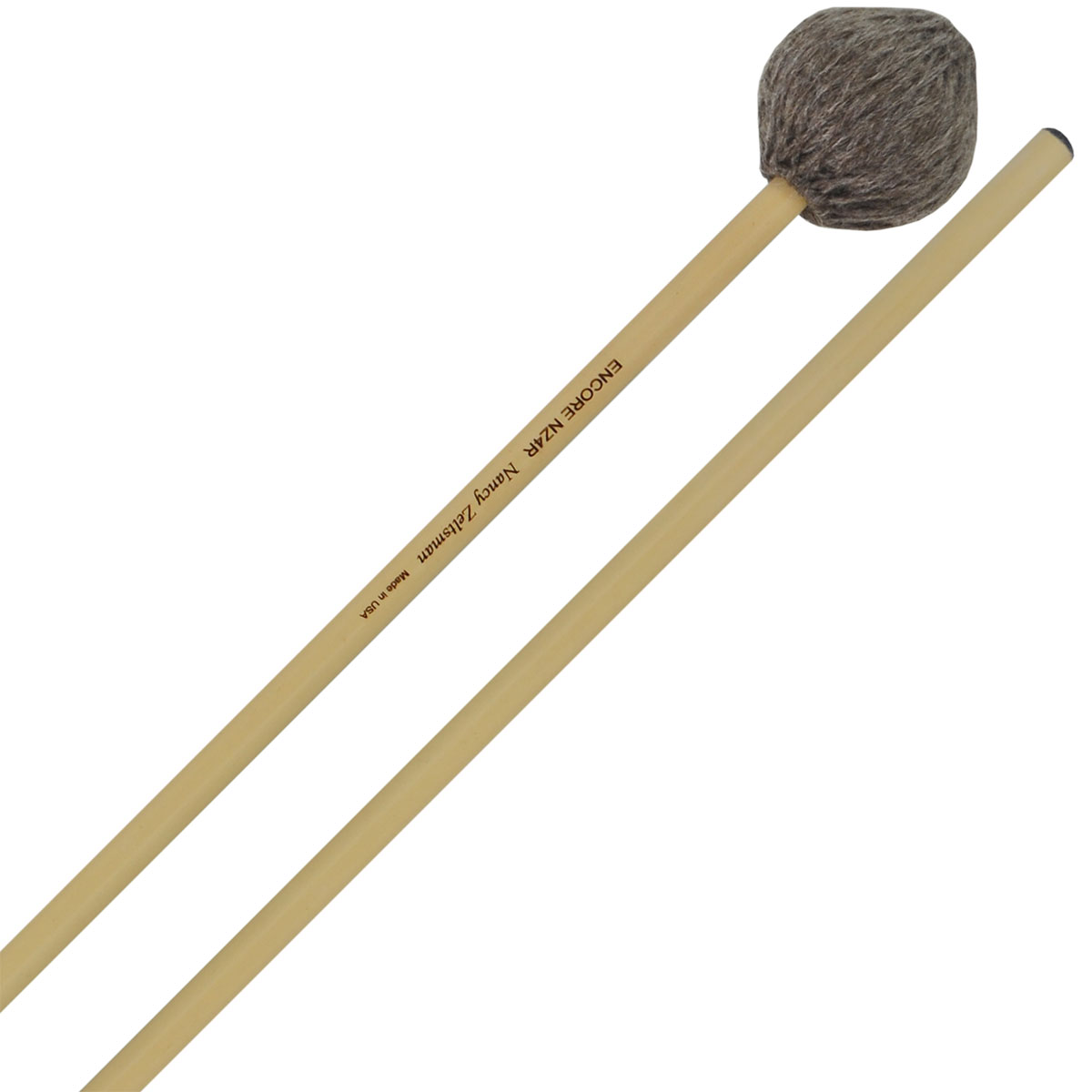 Encore Nancy Zeltsman Signature Medium Marimba Mallets with Rattan Shafts