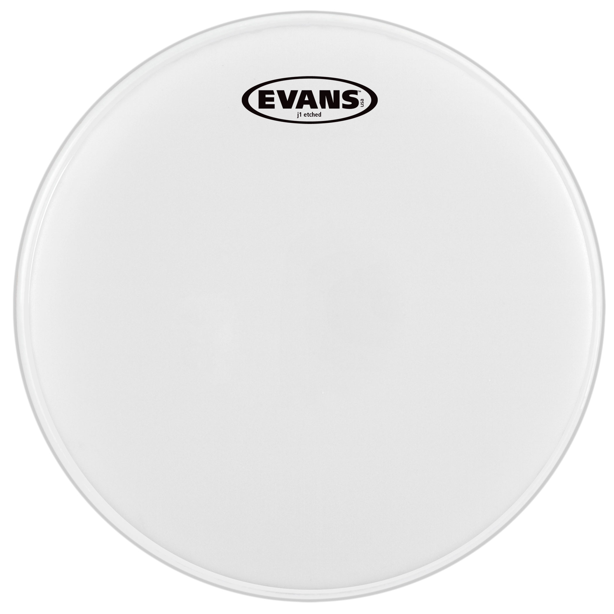 "Evans 6"" J1 Etched Head"