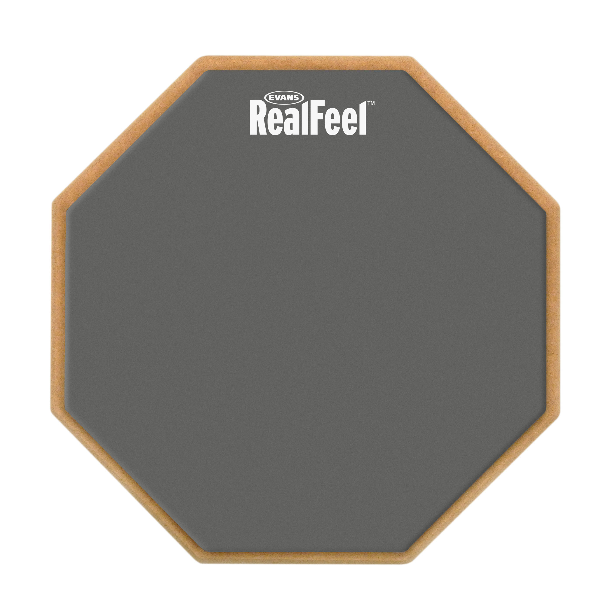 "Evans 12"" RealFeel Double-Sided Practice Pad"