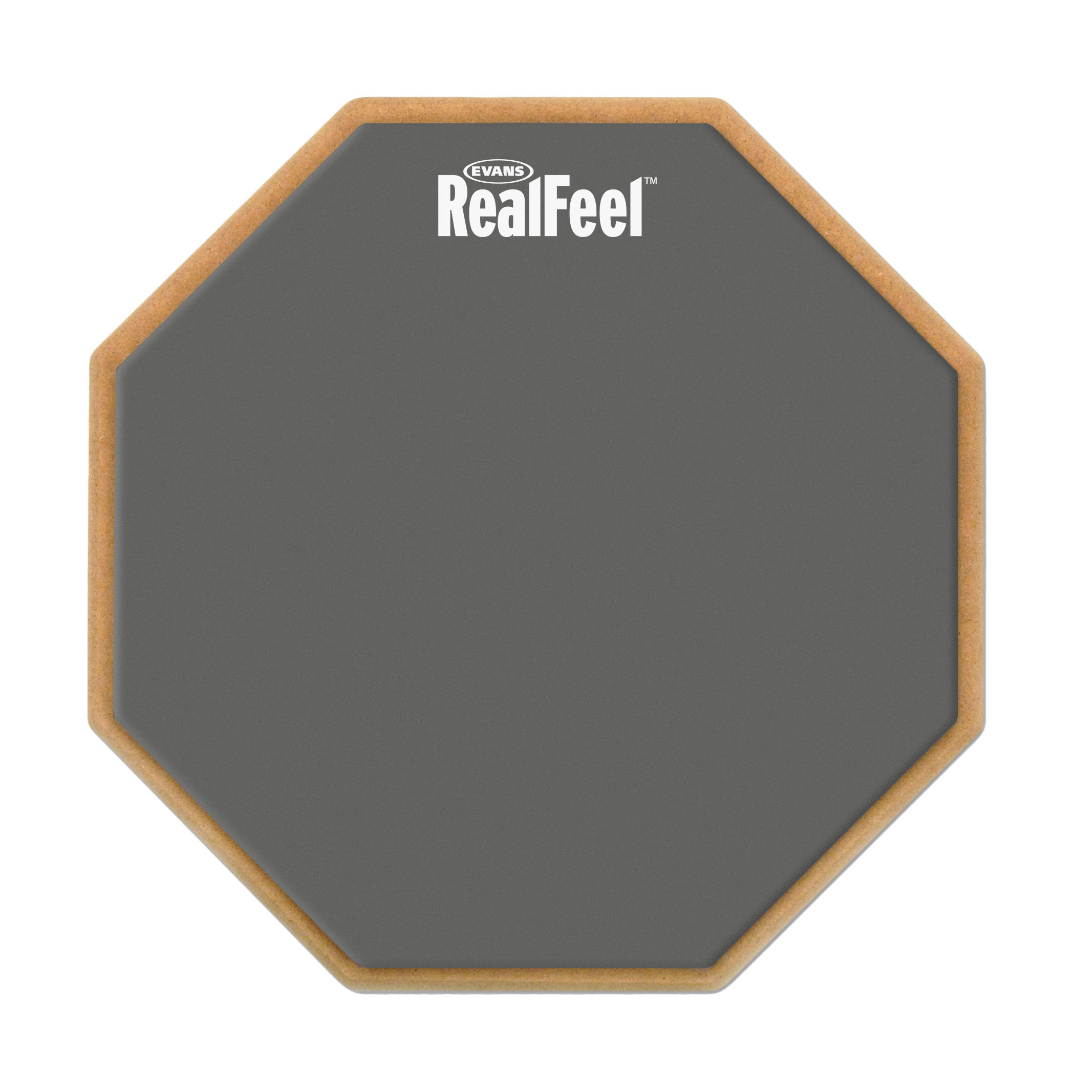 "Evans 6"" RealFeel Single-Sided Speed Practice Pad"