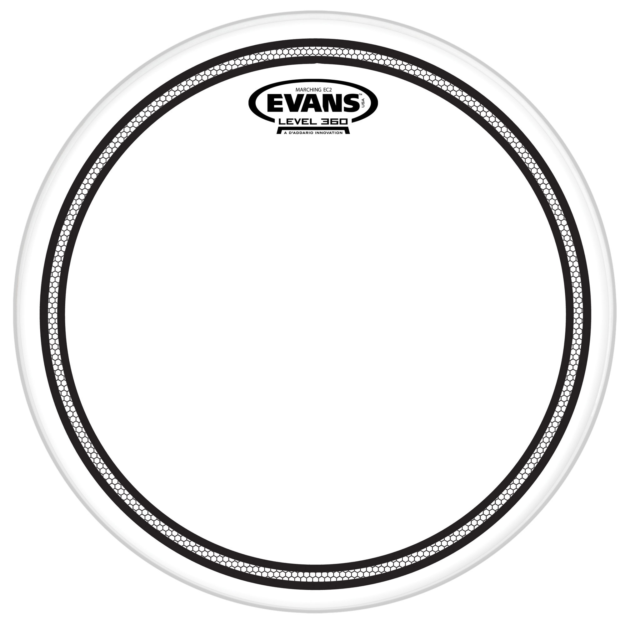 "Evans 12"" Marching EC2S Tenor Head"
