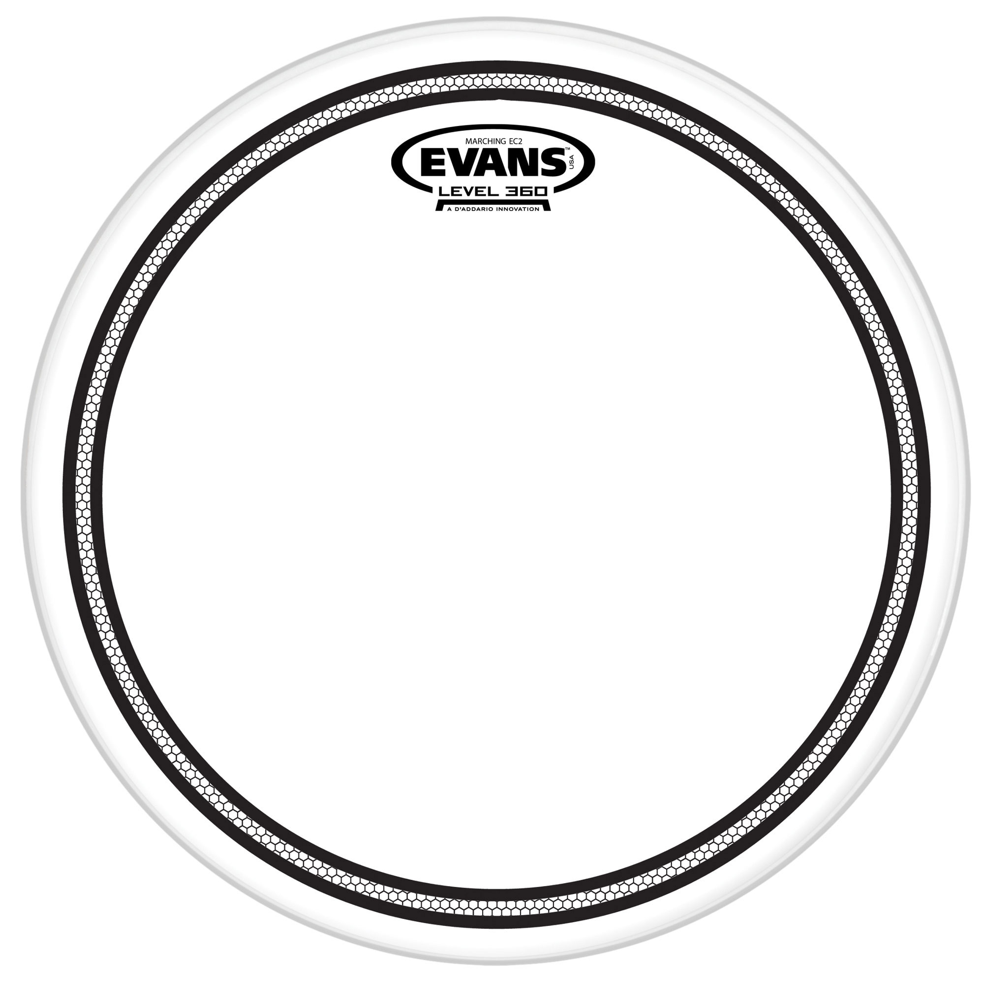 "Evans 14"" Marching EC2S Tenor Head"