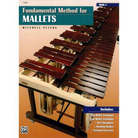 Fundamental Method for Mallets - Book 2 by Mitchell Peters