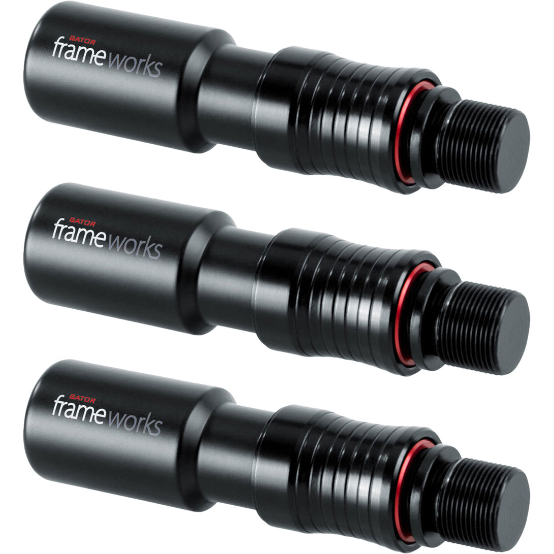 Gator Cases Quick Release Microphone Attachments (3-Pack)
