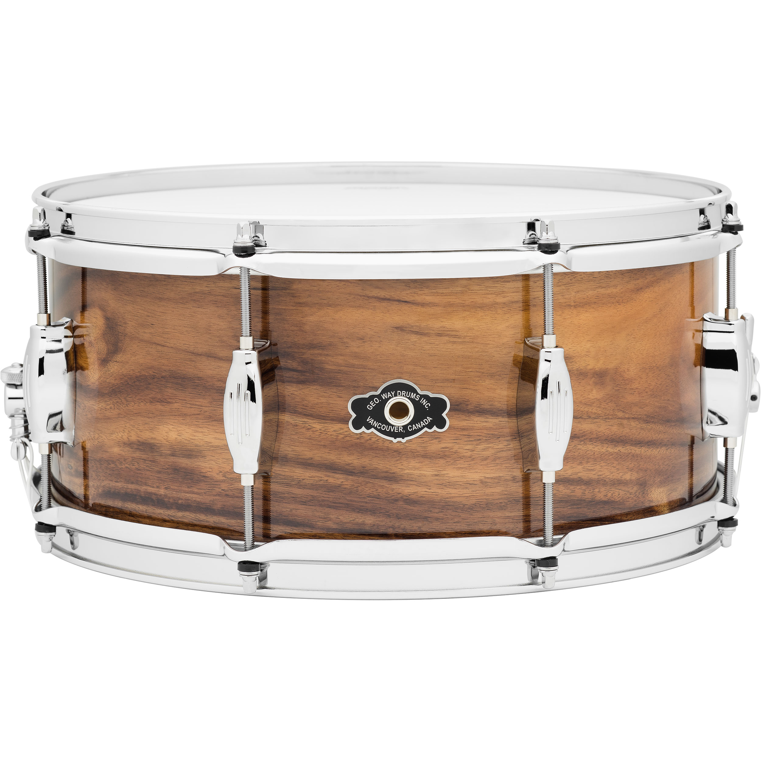 "George Way 6.5"" x 14"" George H. Way Acacia Snare Drum"
