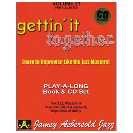 Gettin' It Together Play-Along Book and CD
