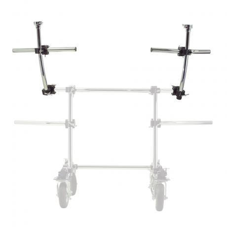 Gibraltar Rolling Frame Station with Casters - Second Tier Rack